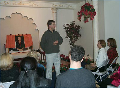 Rob Denton speaking at a recent event in Natick