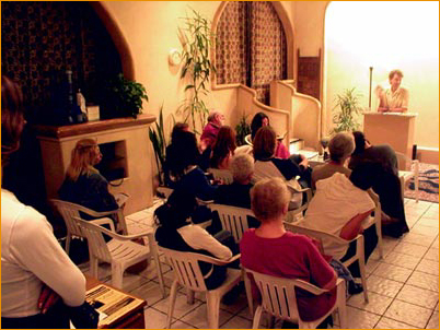 A recent Adidam event in West Hollywood