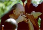 Adi Da participating in a kava ceremony